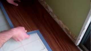 Allure by Traffic Master flooring install