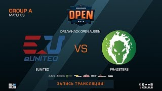 eUnited vs Fragsters - DreamHack Open Austin 2018 - map2 - de_mirage [CrystalMay, Anishared]