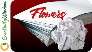 Here is a compilation of tutorials on how to make paper flowers using bond paper. This are easy-to-make paper crafts that could be used as decoration of special occasions like birthday party, wedding debut, and more.