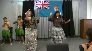 2013 Fiji Day Celebration Meke Part 1 LA-Fiji Christian Fellowship