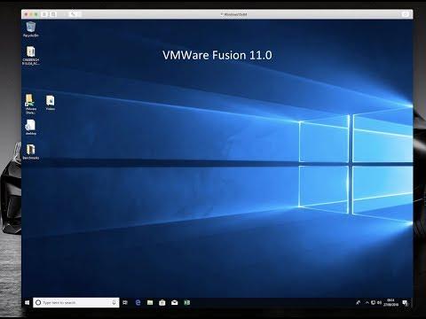 VMWare Fusion 11.0 - It's a mess