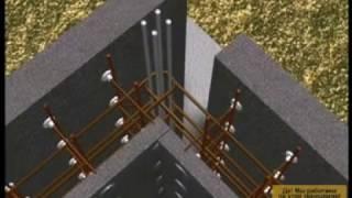 Технология возведения здания по системе Пластбау-3