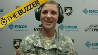 Army softball star reflects on viral leap over catcher by @The Buzzer