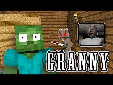 Monster School: GRANNY HORROR GAME CHALLENGE - Minecraft Animation - Thời lượng: 10:10.