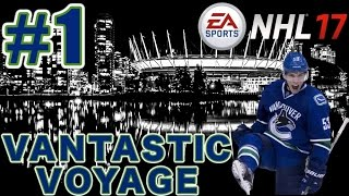 NHL 17: Vancouver Canucks Franchise Mode #1