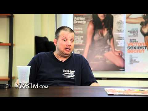 Maxim Exclusive: Comedian Jim Norton