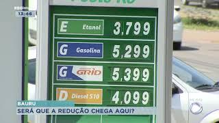 Petrobras anuncia baixa no preço do combustível e óleo diesel