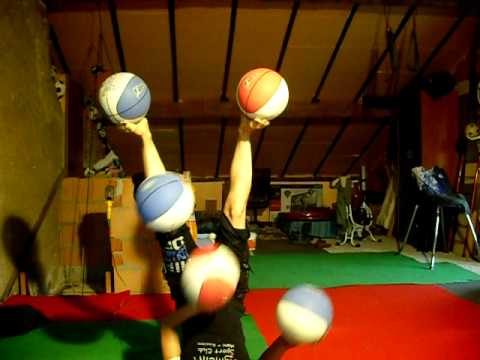 5 Basketball Juggling Routine