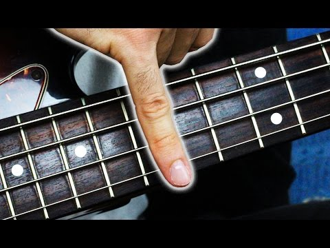 Guy Performs OneFinger Bass Solo With His Pinkie