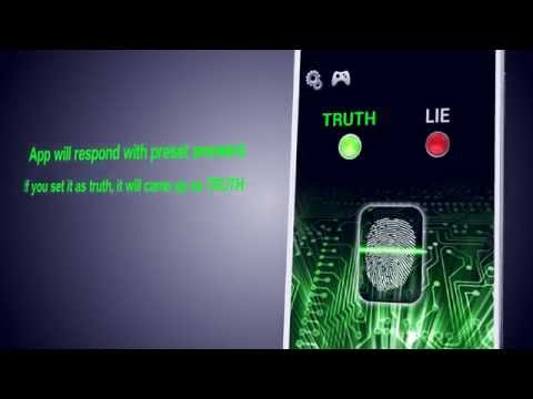 Video of Lie Detector Simulator Fun