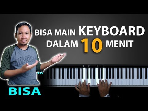 Belajar Keyboard 10 menit Bisa mengiring lagu | Belajar Piano Keyboard