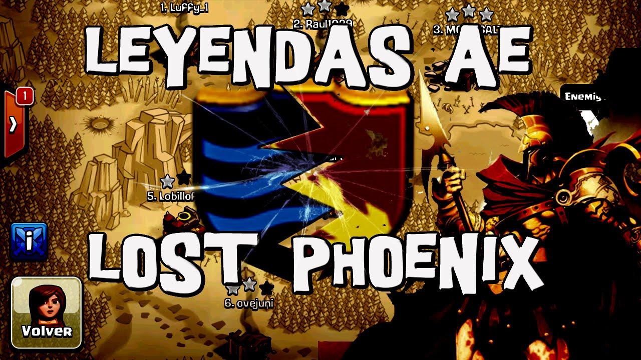Leyendas AE vs Lost Phoenix   Martes Bélico #37   Descubriendo Clash of Clans