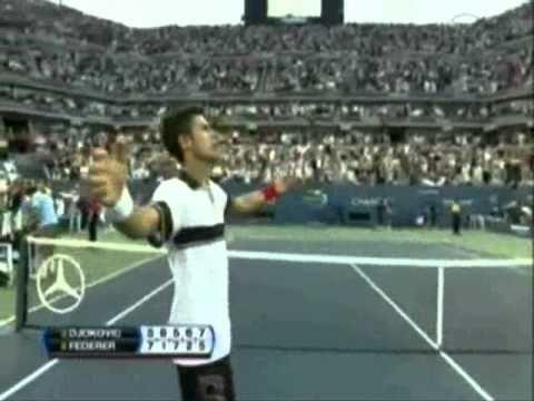 Novak Djokovic vs Roger Federer US Open 2010 Semifinales