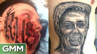 Video Top 5 Worst Tattoos (Love Edition) - RANKED MP3, 3GP, MP4, WEBM, AVI, FLV Desember 2018