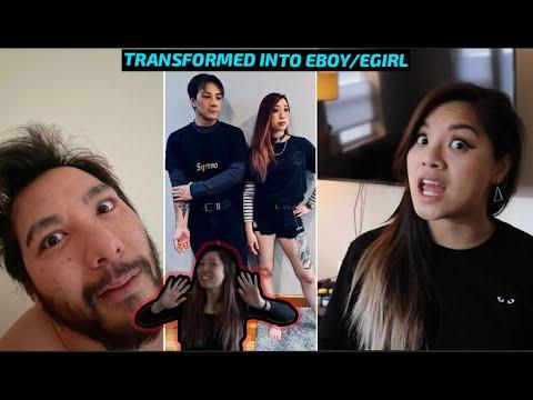 We Transformed Into An Eboy/Egirl!! Vlog #64