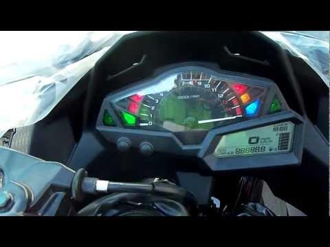 Dashboard New Kawasaki Ninja 250 Injection.MP4