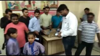 Shivalik school ma distributed kita gay sevlon hand Wash 12/7/2017.