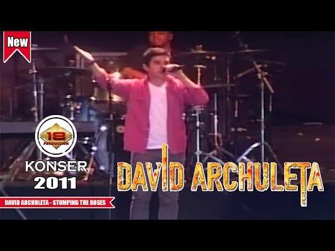 DAVID ARCHULETA - STOMPING THE ROSES (LIVE KONSER JAKARTA - INDONESIA 2011)