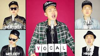 Gentleman - PSY - Acapella Cover / Just Voice and Mouth