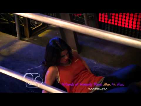 Wizards of Waverly Place: Alex VS. Alex Fight Scene