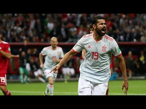 Fußball-WM: Spaniens erster Sieg unter Hierro - gegen Iran nur knappes 1:0