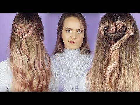 Testing Viral Heart Hairstyles from Pinterest - KayleyMelissa