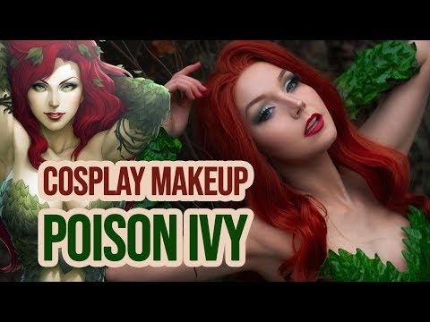 Cosplay Make Up Tutorial - Poison Ivy