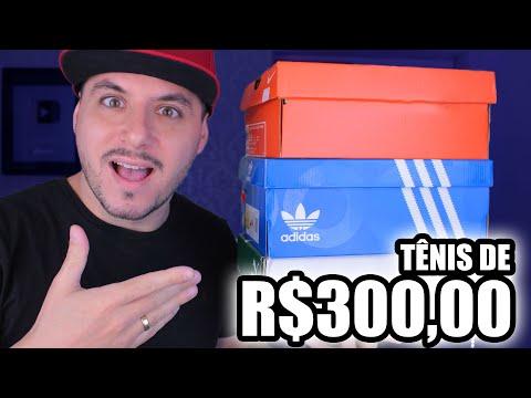 TÊNIS ORIGINAL e BARATO até R$300,00 da Nike, Adidas, Puma видео