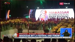 Video MERIAH! Makassar International 8 Festival & Forum Promosikan Destinasi Wisata - BIS 11/10 MP3, 3GP, MP4, WEBM, AVI, FLV April 2019