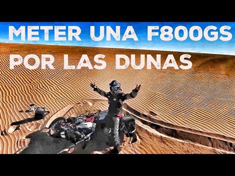 Little Sahara el desierto de juguete vuelta al mundo en moto