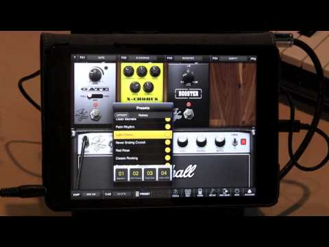 ipad hd - http://bit.ly/ZtKsYe New from IK MULTIMEDIA, the iRig HD interface for iPhone, iPad, and Mac, demoed with a http://www.gibson.com Gibson SG using the Amplitu...