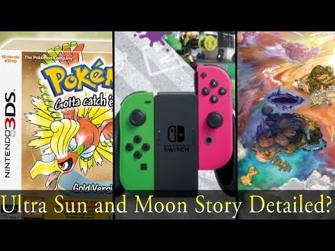 Splatoon 2 Nintendo Switch Bundle, Pokemon Gold and Silver 3DS Boxed Release, New Gen 1 Remake