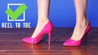 Video How To Walk In Pointy High Heels Tutorial from AMICLUBWEAR! MP3, 3GP, MP4, WEBM, AVI, FLV Juni 2018