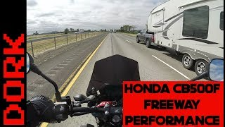 9. CB500F Freeway Performance: Does it Have Enough Top Speed?