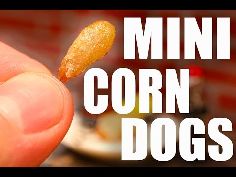 The World s Smallest Corndogs