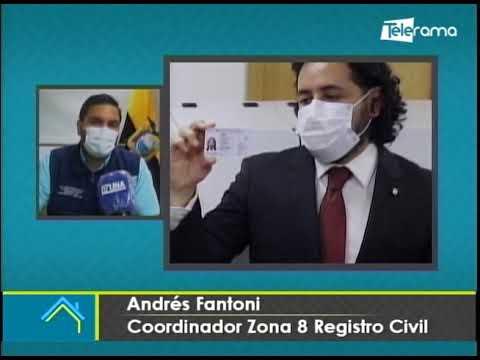 En Guayaquil Registro Civil Nacional ya emite cédulas de identidad electrónicas