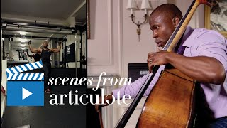 """""""I think every musician has a little bit of a slice of obsessive compulsiveness in their DNA,"""" says Joseph Conyers, assistant principal bassist for the Philadelphia Orchestra."""
