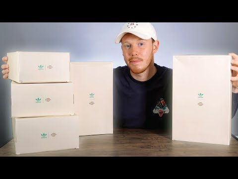 UNBOXING 5 Early Collab Sneakers From ADIDAS!