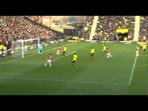 Watford VS MU 1-2, Cuplikan pertandingan