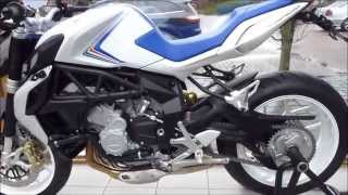 10. 2013 MV Agusta Brutale 800 ''Trepistoni'' 798 cm3 125 Hp  245 Km/h 152 mph * see also Playlist