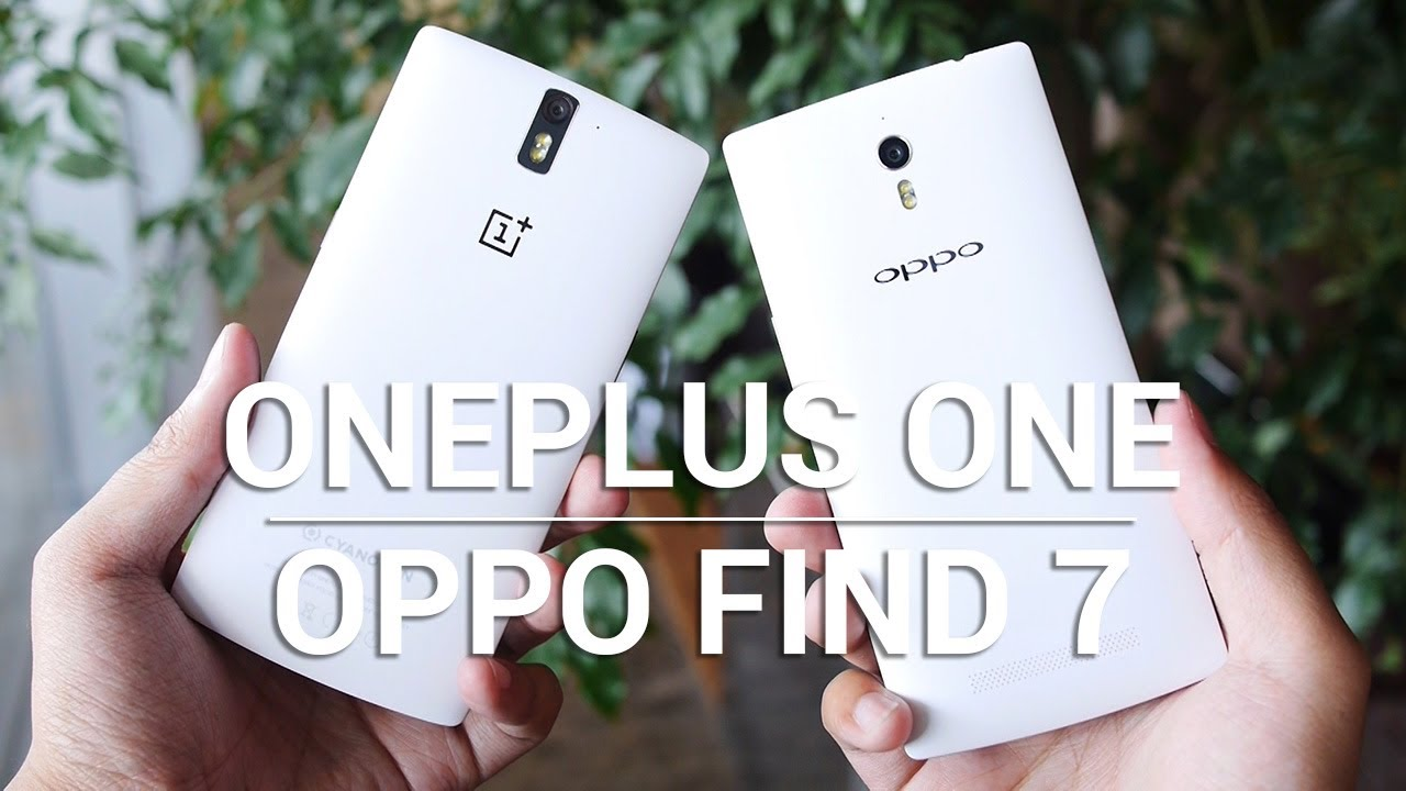 OnePlus One vs Oppo Find 7a – Quick Look