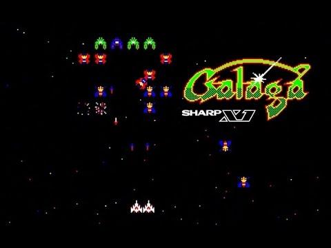 ギャラガ SHARP X1 GALAGA レトロゲーム