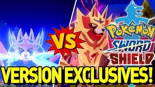 ALL VERSION EXCLUSIVES! Pokemon Sword and Shield Version Exclusive Breakdown! by aDrive
