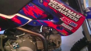 8. kawasaki klx 110 big bore mod 143 pit bike