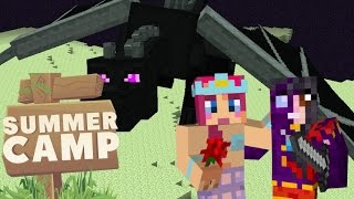 SUMMER CAMP! | With Kim & Amy! | Ep.17! THE ENDER DRAGON! | Amy Lee33