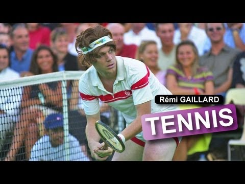 Crazy Remi Galliard Playing Tennis!