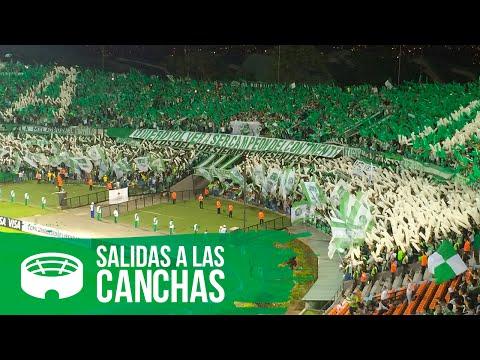 SALIDA ATLÉTICO NACIONAL VS LIBERTAD - Los del Sur - Atlético Nacional