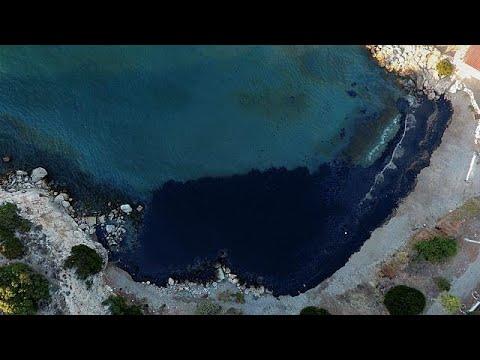 Οικολογική καταστροφή στη Σαλαμίνα