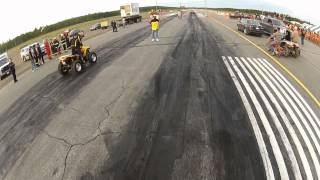 8. 2012 Can-Am Renegade XXC 1000 vs. 2010 Renegade 800r Drag Race