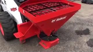 10. Tri-State Bobcat has  the HS8 Bobcat salt & sand spreader / seed & fertilizer spreader.